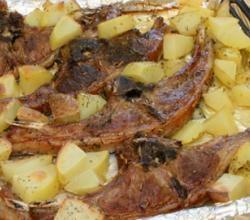 Roast Lamb - Cordero Asado