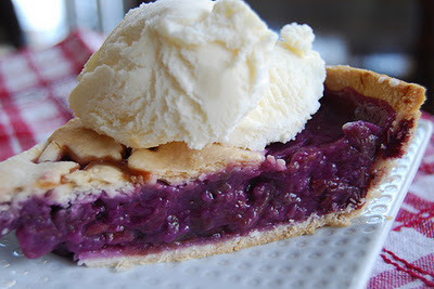 Grape Pie Slice
