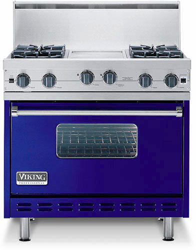 Standing pilot system gas stove