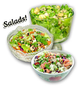 Salads are a healthy choice for picnic food ideas