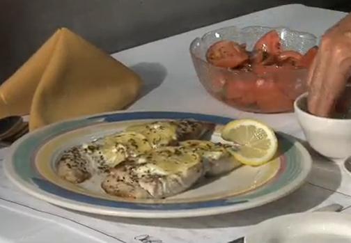 Greek Style Mahi Mahi Recipe Video by tvcadillac | iFood.tv