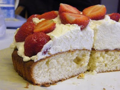 Lemon sponge cake - Easter dessert menu