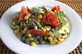 Corn Salad Dressing -- Corn Salad