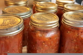 Use citric acid in canning salsa