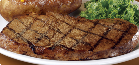 Steaks on the Texas Roadhouse Menu