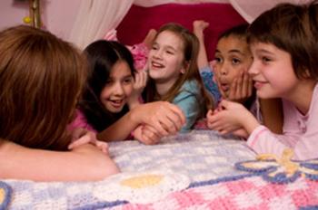 Slumber party for girls