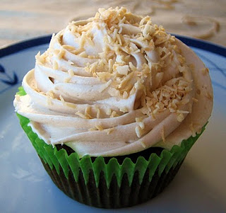 Vanilla Coffee Icing Cupcake