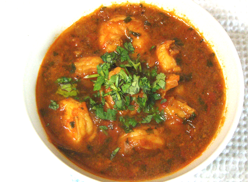 Spicy Shrimp Curry Prawn Curry Recipe By Sarita