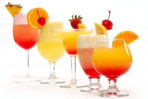 Special non alcoholic mocktails