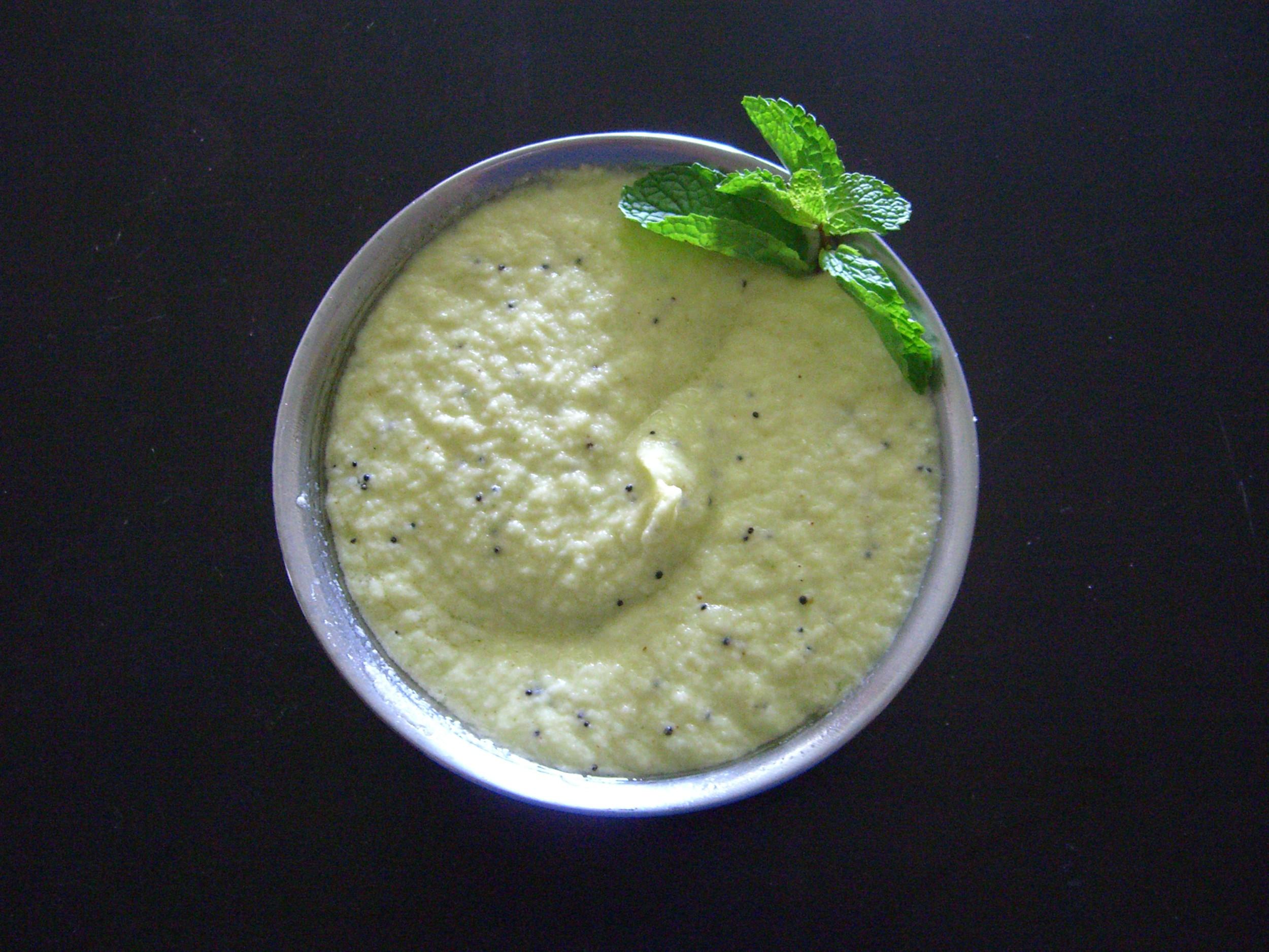 Raw Mango Chutney Recipe by Sarita.Bhandarkar | iFood.tv
