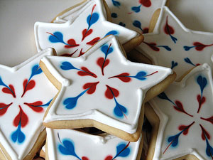Delicious 4th of july cookies