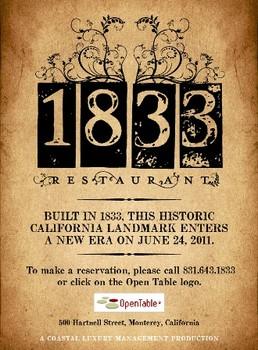 Restaurant 1833