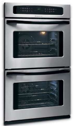 A clean convection oven
