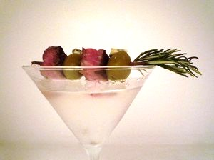 Rosemary Garnish