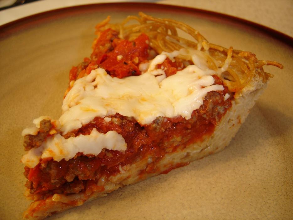 Sphaghetti pie