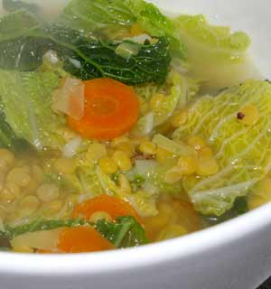 Having sumptuous cabbage soup is excellent for weight reduction
