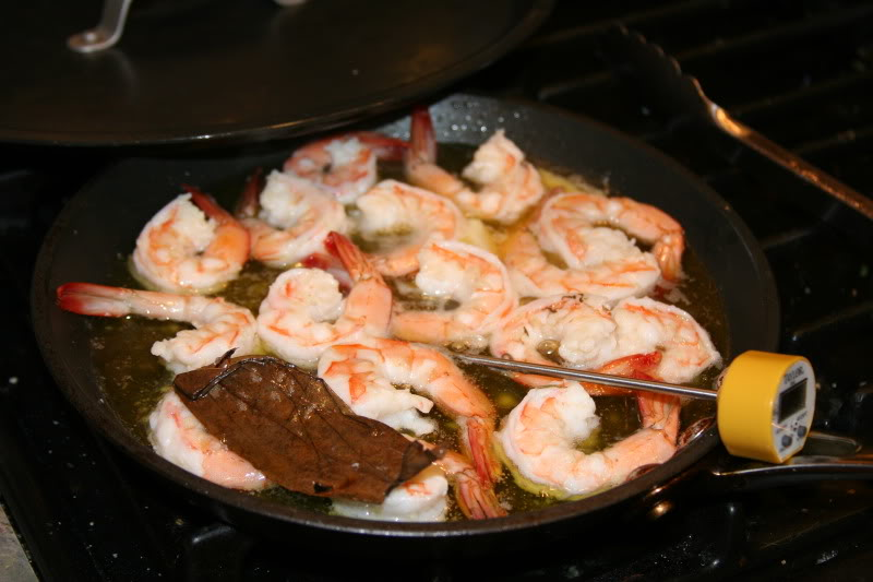 tips to poach shrimp