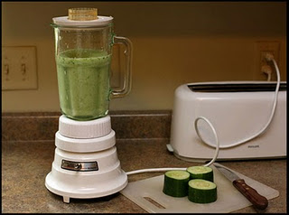 how to puree cucumber