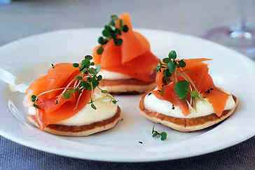 Smoked Salmon Garnish