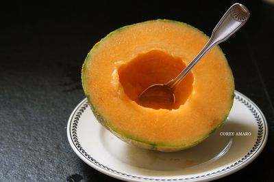 Breakfast bowl out of melons are delicious yet healthy
