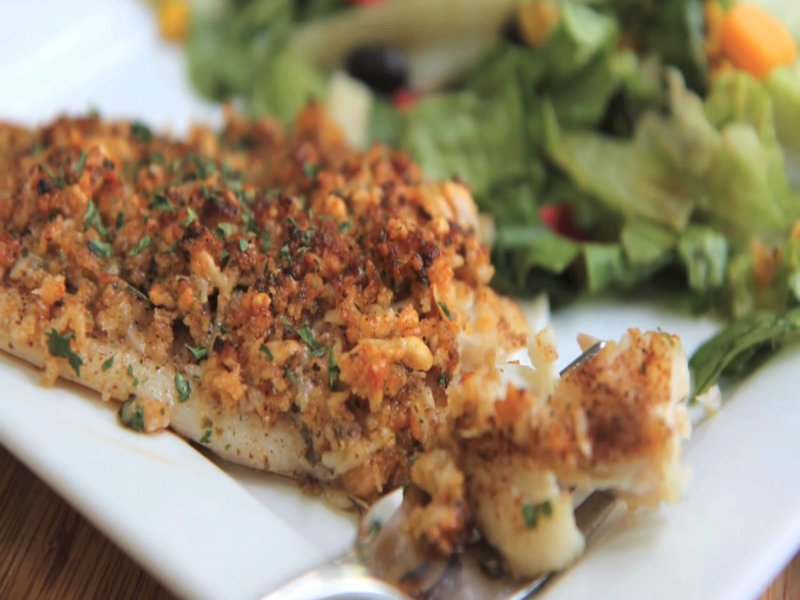 Baked Parmesan Tilapia Recipe Video by DivasCanCook | iFood.tv