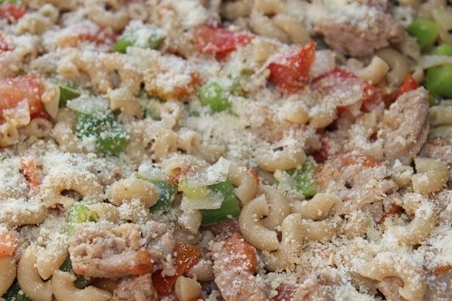 Macaroni And Sausage Casserole - Easy Sausage Casserole