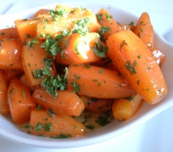 Moroccan glazed carrots