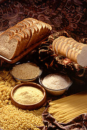 In the USA many grain products are fortified with folic acid.