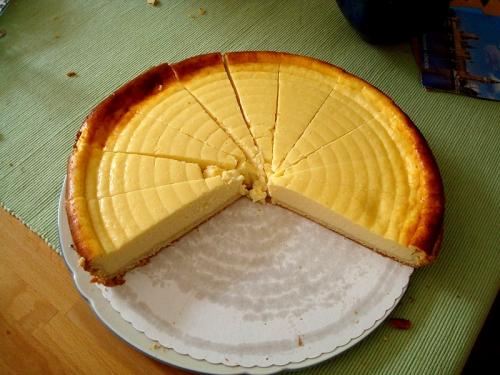 Cheese cake - detox dinner