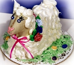 Easter Sheep Cake