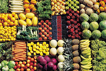Keep fruits and vegetables separately