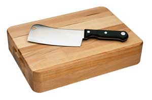 Need to make a kitchen chopping block which can be used for everyday chopping