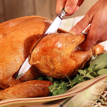 how to carve a whole turkey easily