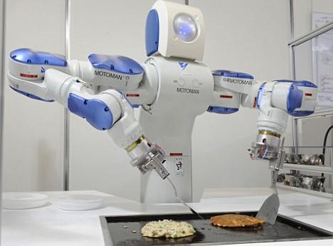 Okonomiyaki Robot