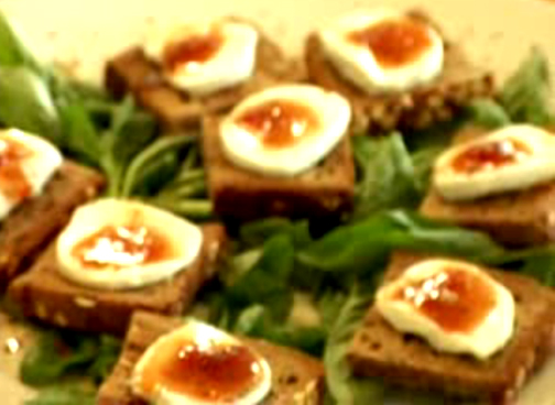 Goat Cheese and Figs Appetizer - Heavenly Goat Cheese Starters