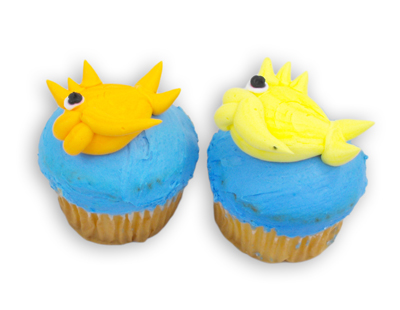 Fish In The Lake Cupcake