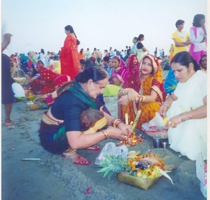 Chhath Pooja:An Eco-freindly Food Festival !