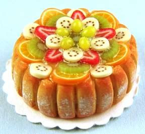 Delicious fruit cake - dessert