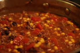 Rosy Chili And Beef Soup -Beefy Chili Starters