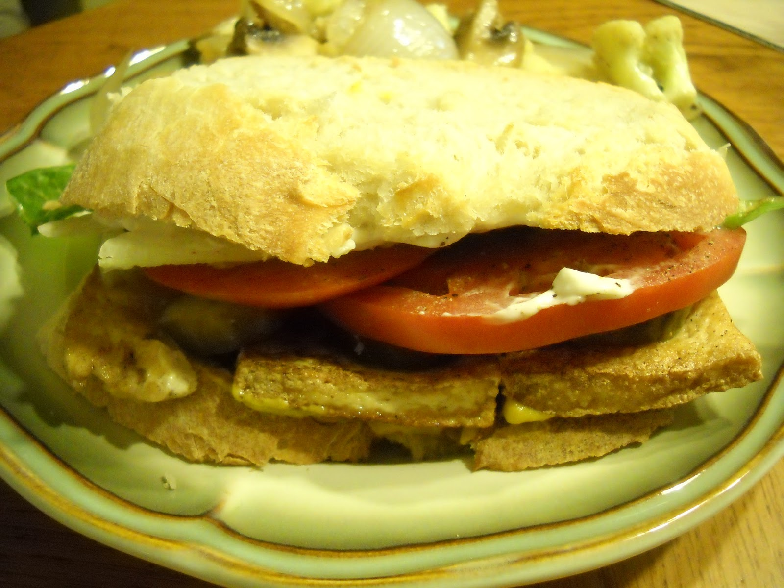 Fried Tofu Sandwiches