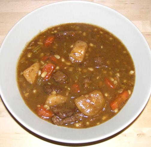 Leftover Beef Stew