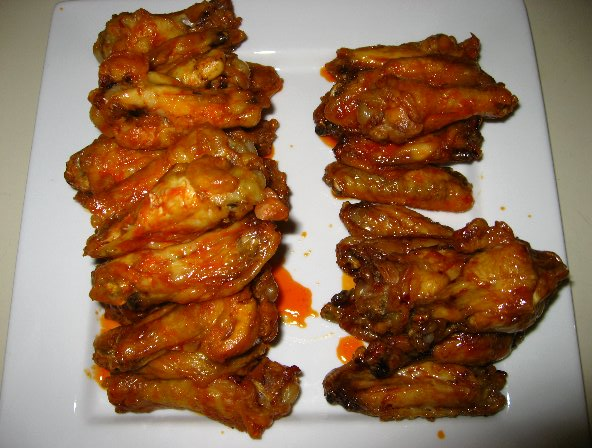 how to cook frozen wings in the oven