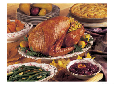 Thanksgiving theme foods