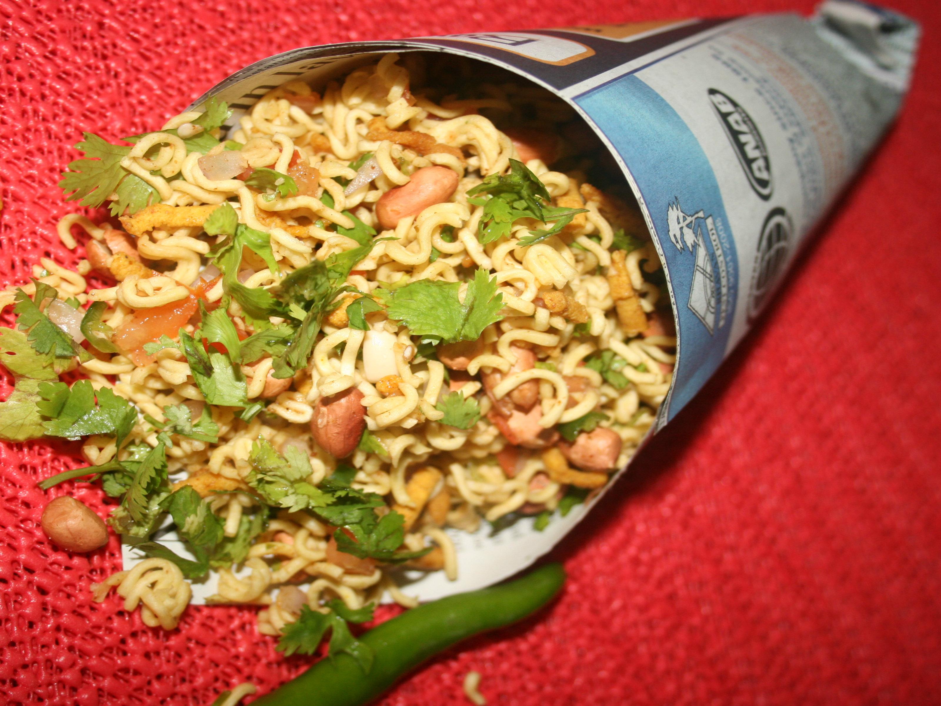 Chatpati Top Ramen Bhel Recipe By Roli Ifood Tv