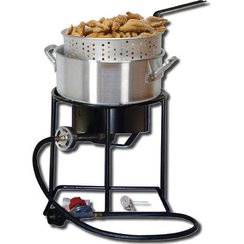 How to asssemble a propane fish fryer by yummytummy for Outdoor fish fryers propane