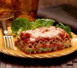 vegetarian noodle lasagna
