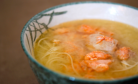 Salmon Broth