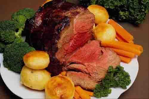 BBQ beef roast