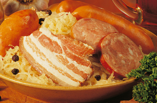 choucroute garnie is perfect for parties