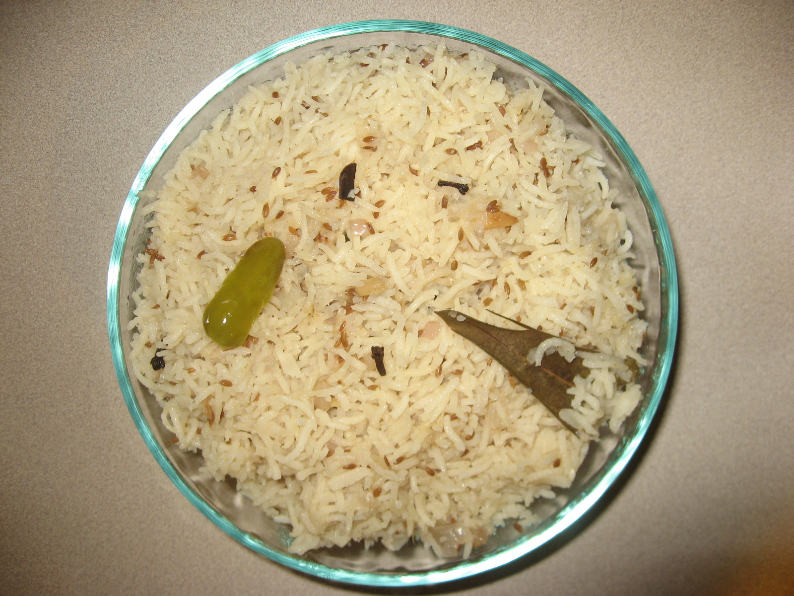 A Simple Rice Delicacy